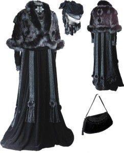 траурная мода 32