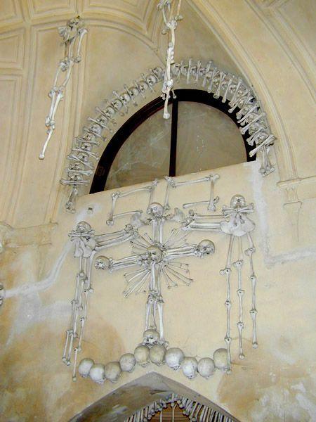 Седлицкая Костяница - часовня, декорированная костями