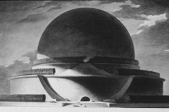Кенотаф Ньютона - гигантский памятник Исааку Ньютону