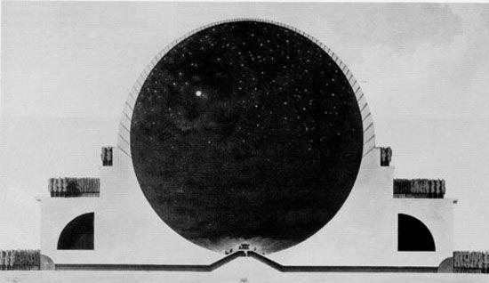 Кенотаф Ньютона - День
