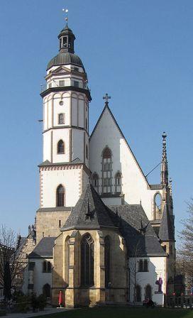 Собор св. Фомы в Лейпциге - место захоронения И.С.Баха