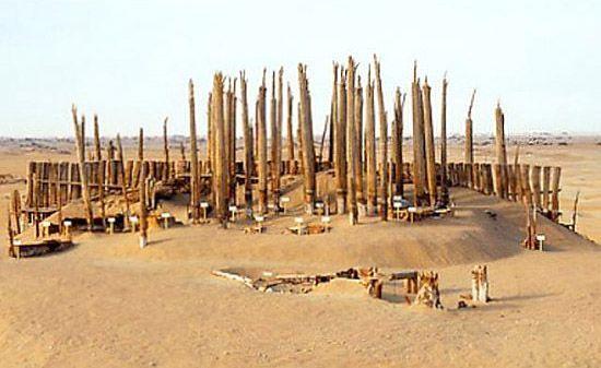 Пустынное захоронение мумий