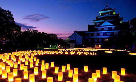 Японский праздник Обон - день поминовения усопших