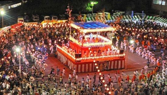 Празднование японского для поминовения