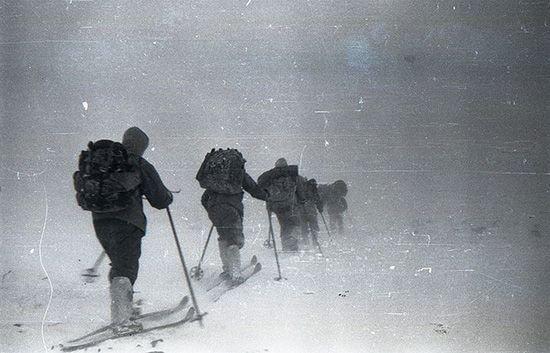 Группа Дятлова, загадочно погибшая в горах Северного Урала