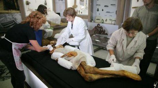 Исследование мумии Алтайской принцессы