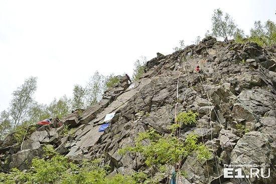 Гора Волчиха в Екатеринбурге
