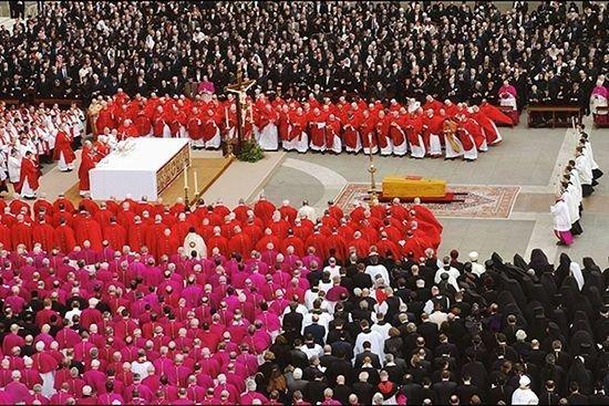 Церемония прощания с Папой Римским Иоанном Павлом II