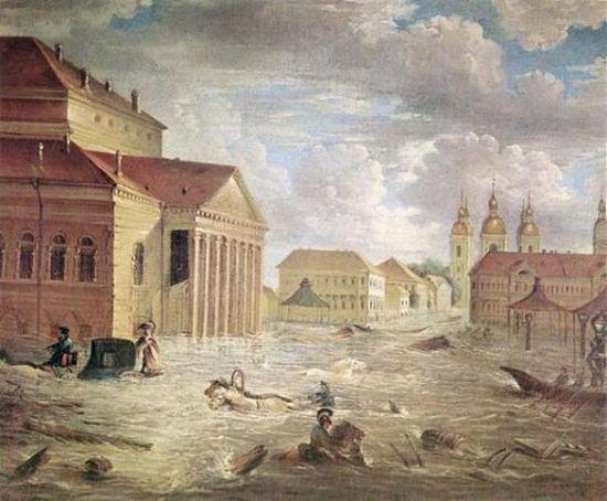 Наводнение в Санкт-Петербурге 19 ноября 1824 года
