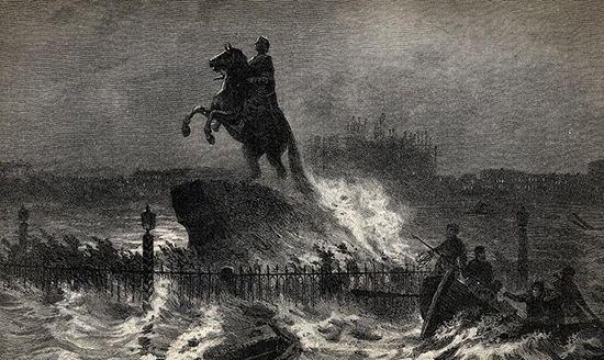 Ужасное наводнение 1824 года в Санкт-Петербурге