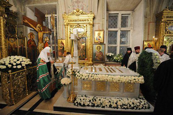 Саркофаг Патриарха Алексия II