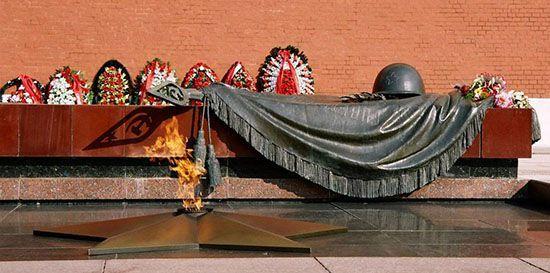Мемориал Могила Неизвестного солдата в Москве