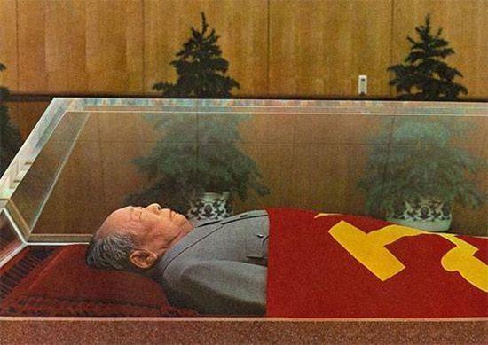 Мао Цзедун в саркофаге