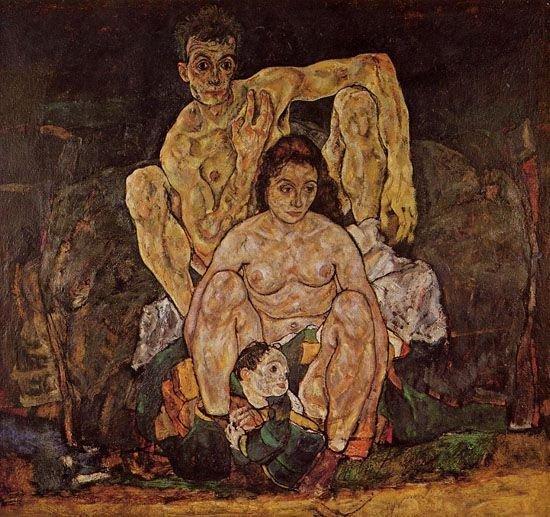 """""""Семья"""" Эгон Шиле, 1918"""