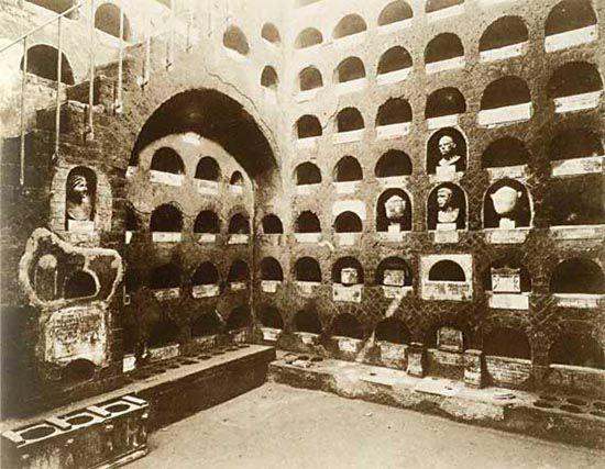 Римские колумбарии