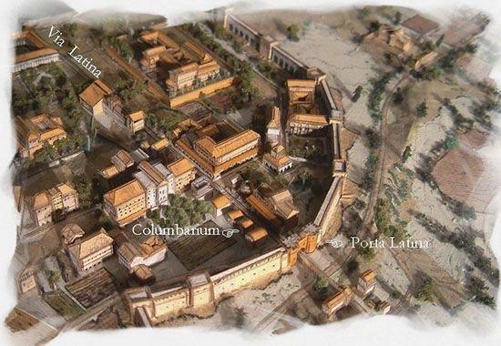 Колумбарии Древнего Рима