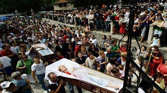 Испанский праздник смерти