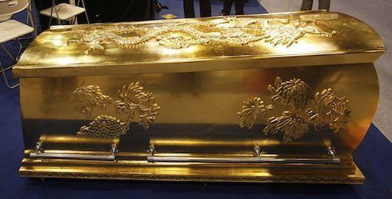 Китайский золотой гроб