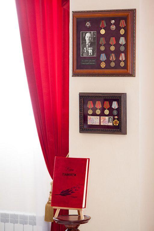 Музей боевой славы в Георгиевском зале