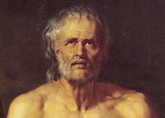 Древнегреческий философ Сенека