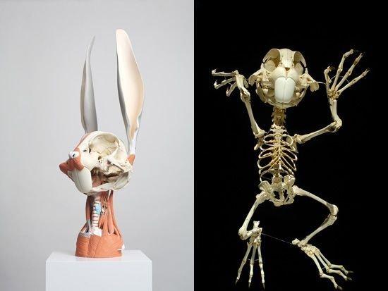 Создание скелета Баггза Банни