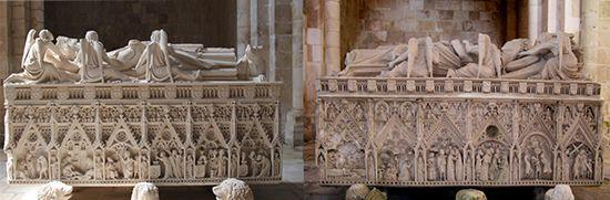 Гробницы Педру I и Инес де Кастро