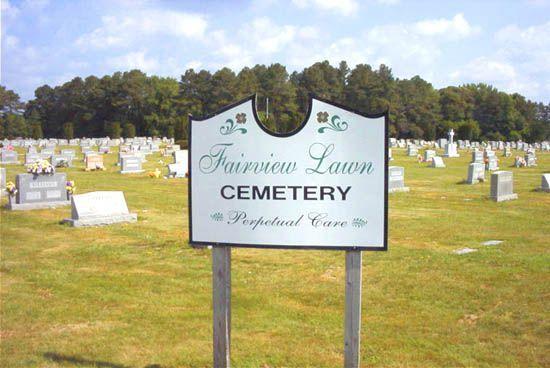 Lown cemetery