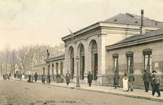 XIX век, парижский морг
