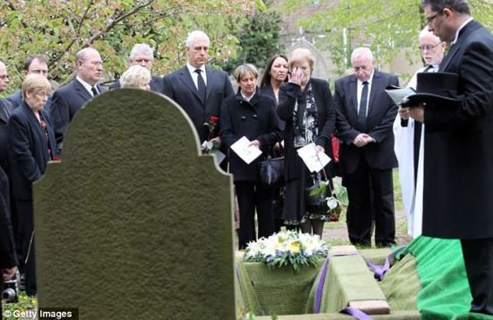 Похороны Джона Хорвуда