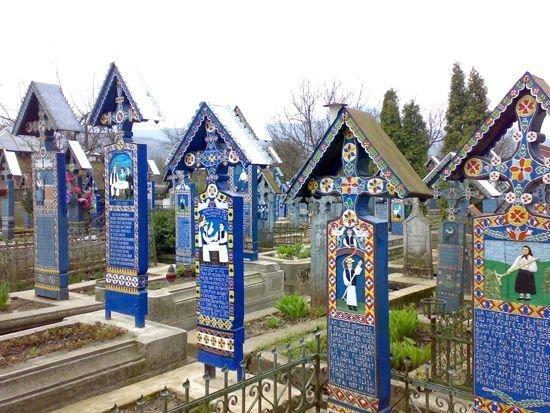 Веселое кладбище Cimitirul Vesel