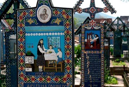 Могила любимой бабушки в Чимитрул-Весел