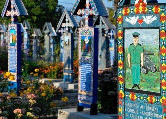 Могила военного на кладбище Чимитрул-Весел