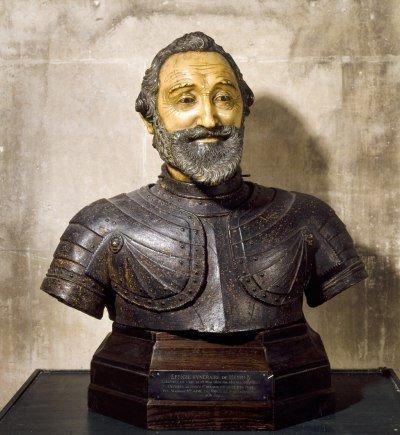 Бюст Генриха IV, используемый во время похорон