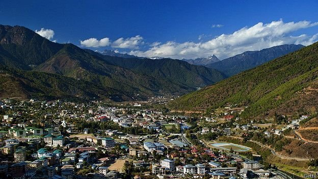 Столица Бутана Тхимпху