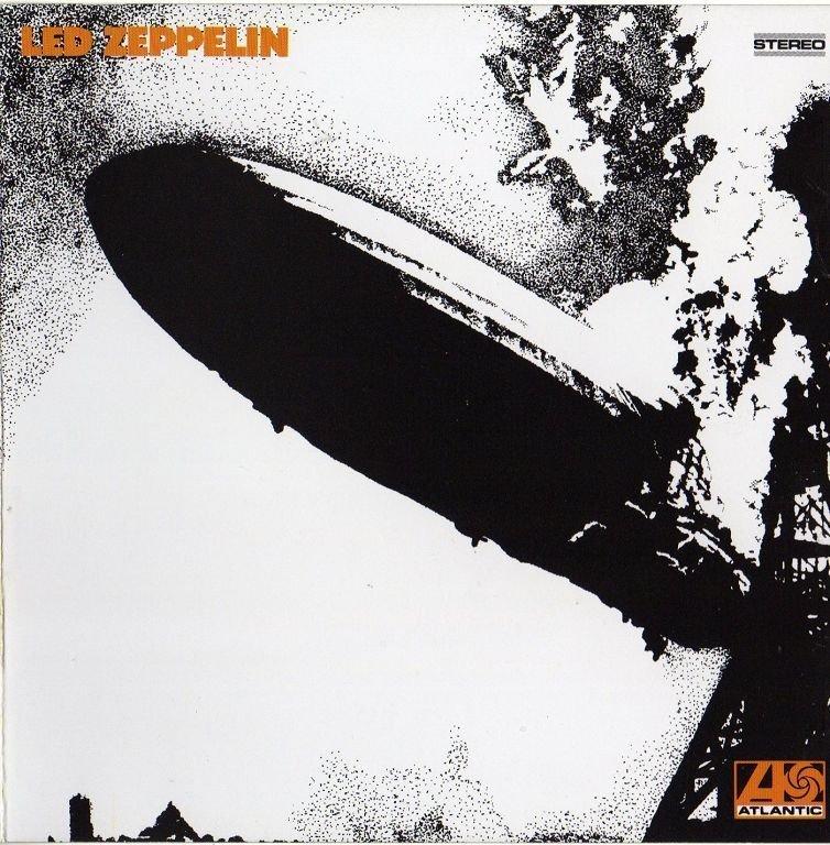 Обложка альбома Led Zeppelin «Led Zeppelin» (1969)