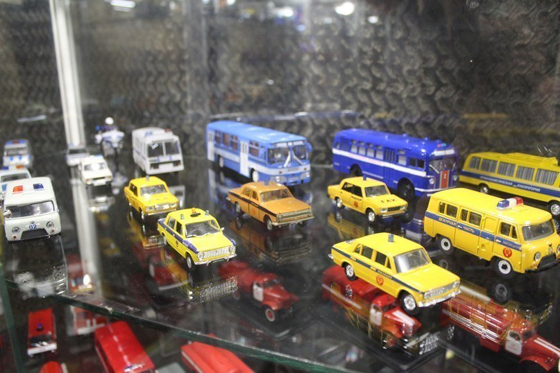 Коллекция масштабных моделей транспорт СССР