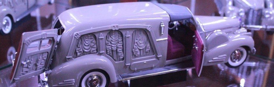 Экспонаты Музея мировой погребальной культуры