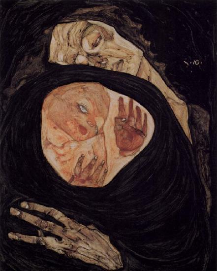 """""""Мертвая мать"""", 1910"""