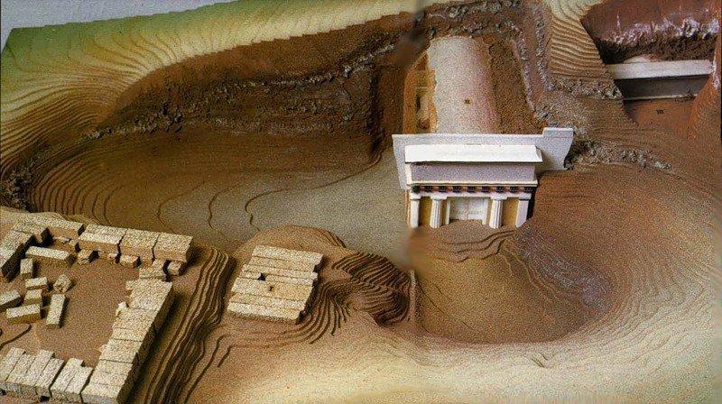 Реконструкция гробницы Филиппа II