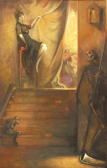"""""""L'irreparable - Les Fleurs des Mal"""" Belgium, c.1921"""