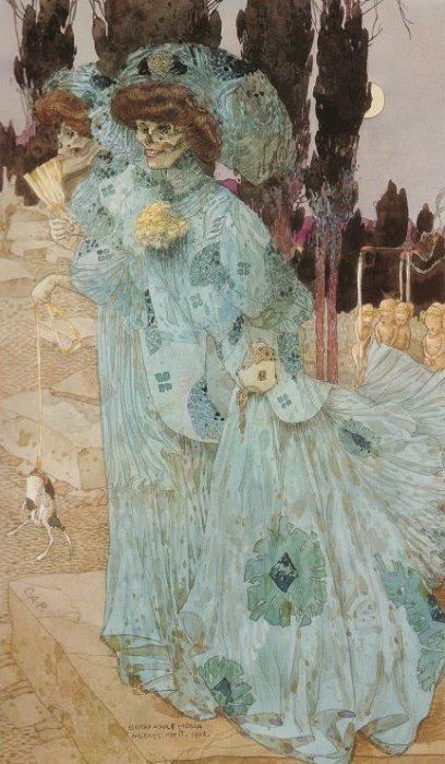 Мертвые,1908
