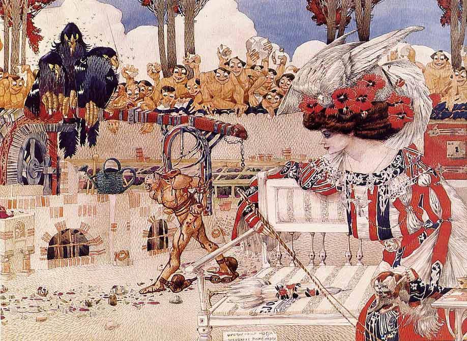 """""""Развлечение Далилы"""", 1905"""