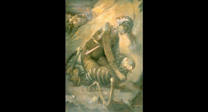 Символизм в картинах Яна де Бовера 1