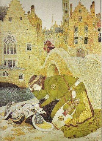 """""""Убийство в Брюгге"""", 1911"""