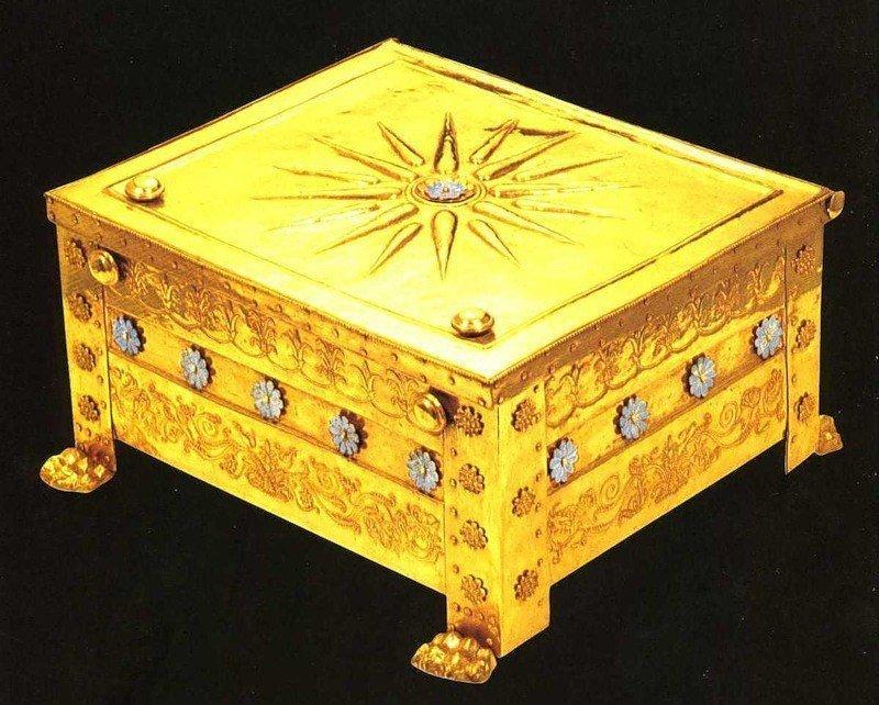 Погребальный ларец Филиппа II