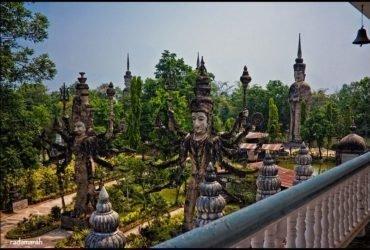 Мистический парк в Тайланде