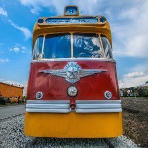 трамвай СССР