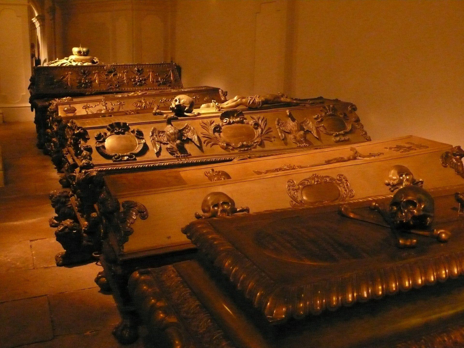 Капуцинеркирхе вена, крипта дома Габсбургов