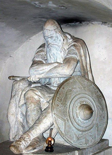 Статуя Ожье Датчанина в замке Кронборг