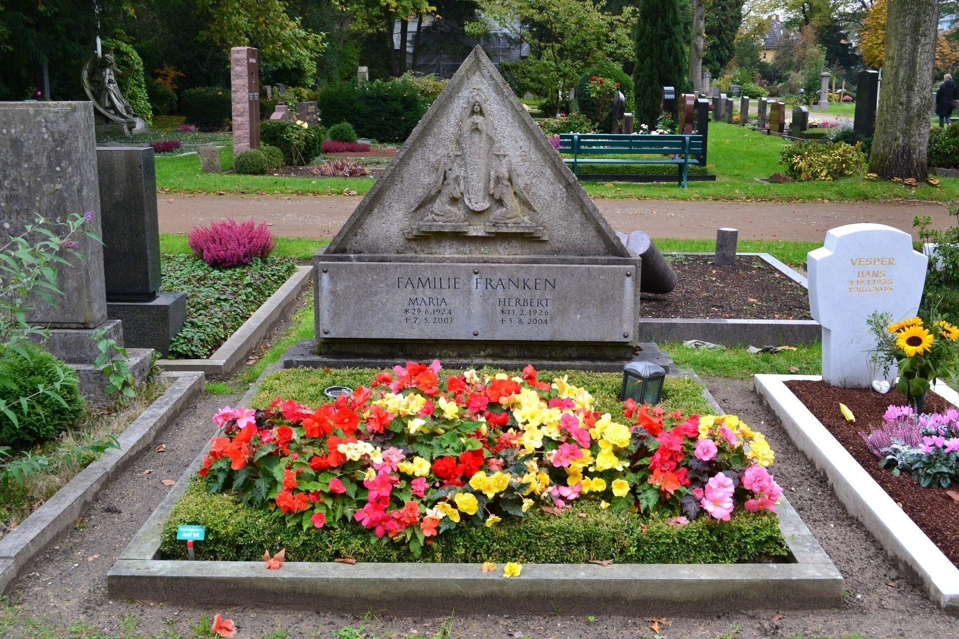кладбище Дюссельдорфа Нордфридхоф